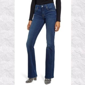 7 For All Mankind Long A-Pocket Flare Jeans